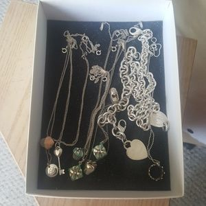My tiffany and co. Necklace collection